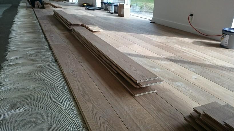 Eikenhouten Vloer Leggen : Houten vloeren nederlands kwaliteit postmus parket