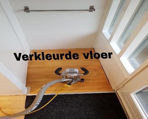 Verkleurde Junckers vloer