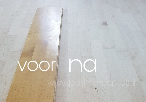 Eiken Vloer Beitsen : Houten vloer lichter maken hij is verkleurd kun jij mij helpen?