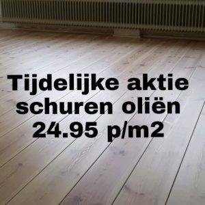 Houten vloer schuren Groningen