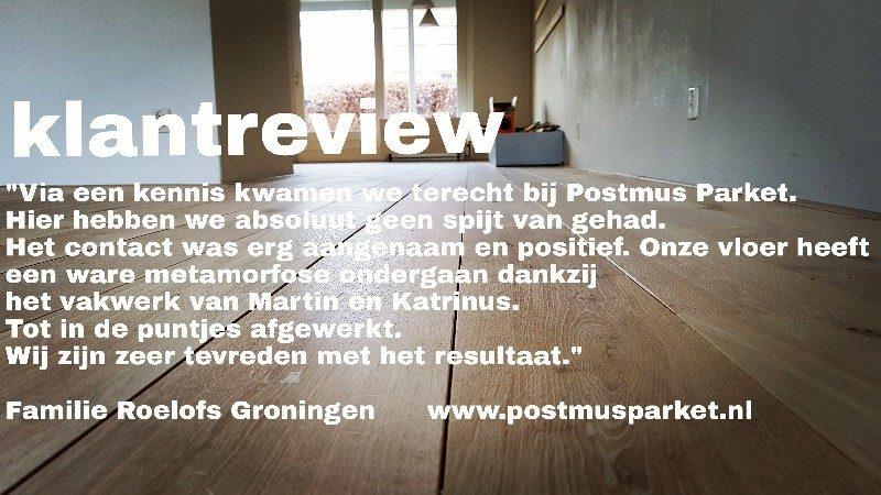Klanten en hun ervaring met Postmus parket
