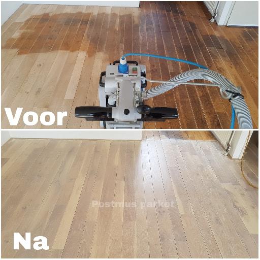 houten vloer laten renoveren
